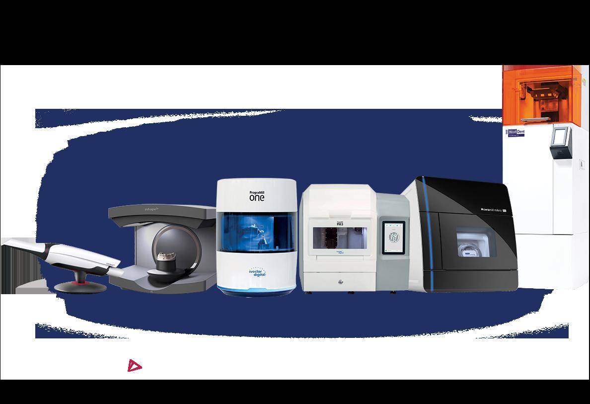 CAD/CAM přístroje a 3D tiskárny pro ordinaci a laboratoř